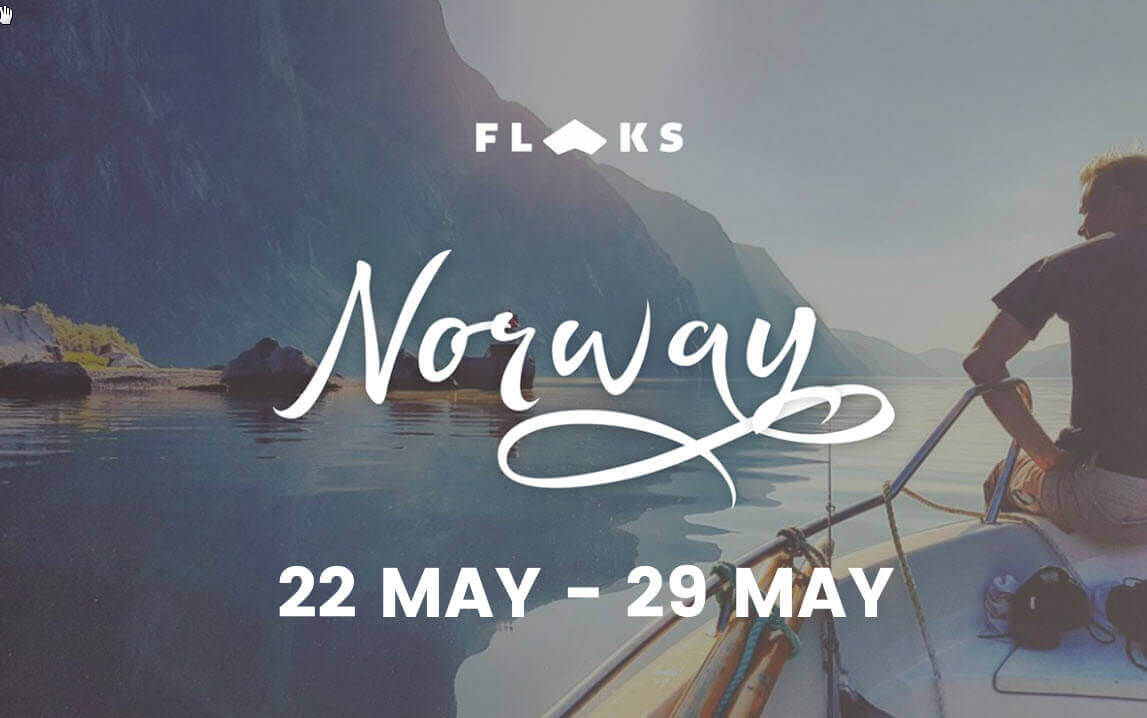 Norway Workation with Flaks | 22nd - 29th of May 2017