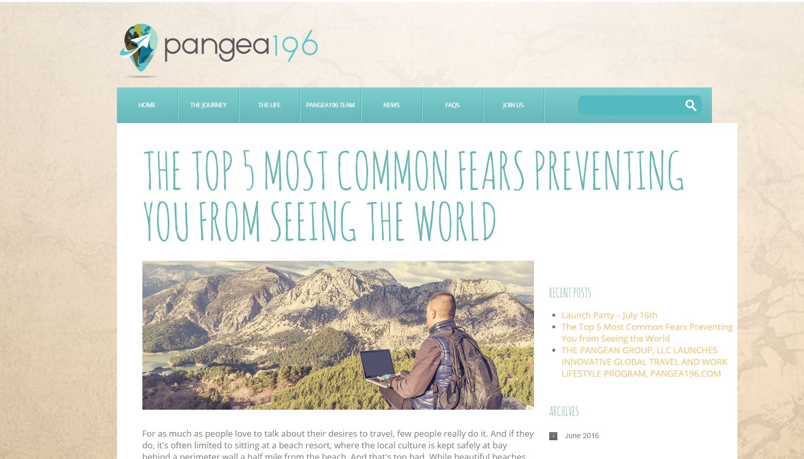Pangea 196 lets workers office out of 12 counties around the world